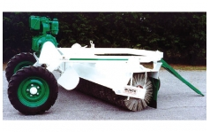 Cma & Engine Driven 2-Way Towed Sweeper