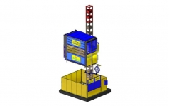 Spartan Single Cage Passenger and Material Hoist